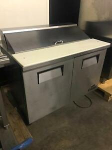 48 true salad prep topping table fridge ( like new ! ) only $1395 ! Shipping any where in Canada save$$$$
