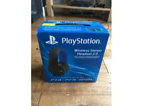PlayStation 4 Wireless Headset