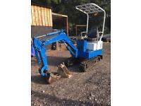 1.5 ton Digger Excavator Self Build Export