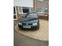 BREAKING VW GOLF ESTATE 1.9TDI (02)