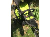 Phil & Teds Double Buggy Lime Green
