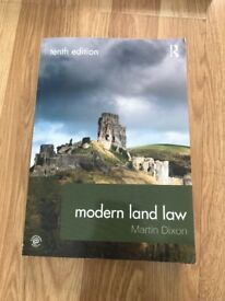 Selling Modern Land Law textbook by Martin Dixon