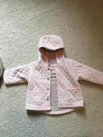 Next coat with hood size 3-6 months