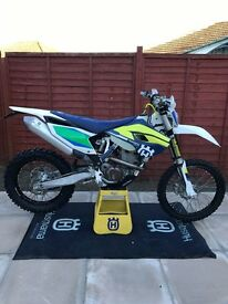 2016 Husqvarna FE 350 Enduro Bike