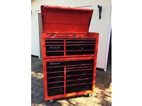 Snap On Classic 40 inch Roll Chest and top box £1,200