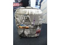5 Cities Large LightWeight Suitcase New York Hard Shell With Trolley Handle.