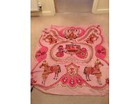 Hermes cashmere and wool scarf shawl
