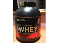 Optimum Nutrition Gold Standard Whey 5lb. Double Rich Chocolate.