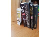 Mixture of sport biography and autobiographies