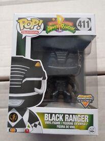 Funko POP Power rangers Morphing Exclusive Black ranger.