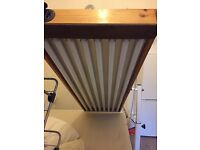 8 tube sunbed for over the bed