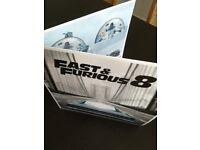 Fast And Furious 8 Big Sleeve *3 Disk* Edition / Blu Ray / 4K UHD / UV Digital Download / DVD