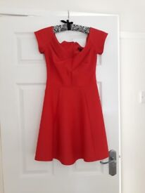 Red river island bandeau skater dress size 10