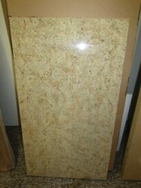 LARGE Off Cut Worktop Laminate 38mm AMBER KASHMIR 107cm x 60cm
