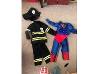 Age 5-6 and 3-4 fancy dress outfits