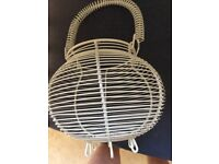 Egg wire basket country style