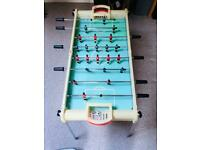 Table football with ball