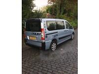 Peugeot expert e7 taxi cab