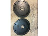 15kg Rubber Olympic Weight