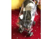 Chicco trio pram in great condition, carrycot, car seat, pushchair