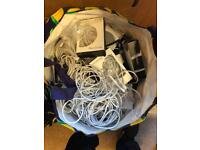 iphone chargers £5 each or 3 for £10 1-3 meter cables