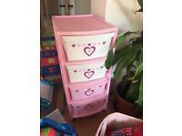 Kids Pink storage