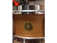 "Gretsch Broadkaster 14""x5.5"" Snare Drum in Satin Classic Maple"