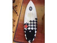 Surfboard 5'8 x 20 x 2 1/2 Quad fin