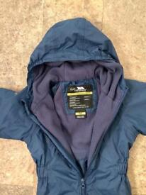 Trespass all weather suit, age 4-5