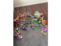 Large bundle of peppa pig toys. All in perfect condition, loads of figures included