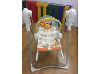 Fisher-Price 3-in-1 Swing-n-Rocker in very good condition