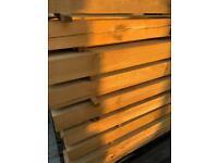 Wooden Posts 100x100x1800