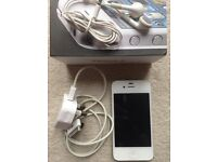 IPhone 4 8 GB white good