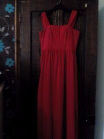 Red dress,