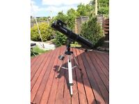 Orion optics europa 114 telescope in excellent condition with stand