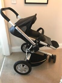 quinny buzz pushchair and carrier Cabriofix Car Seat & Raincover