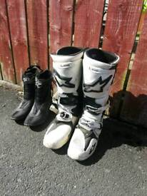 Alpine star tech 10 motocross boots which I paid £400 for