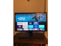 "27"" Curved Samsung Monitor Full HD"