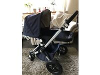 bugaboo pram and maxi cozy car seat bundle