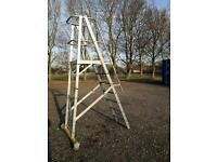 7 rung safety platform ladder