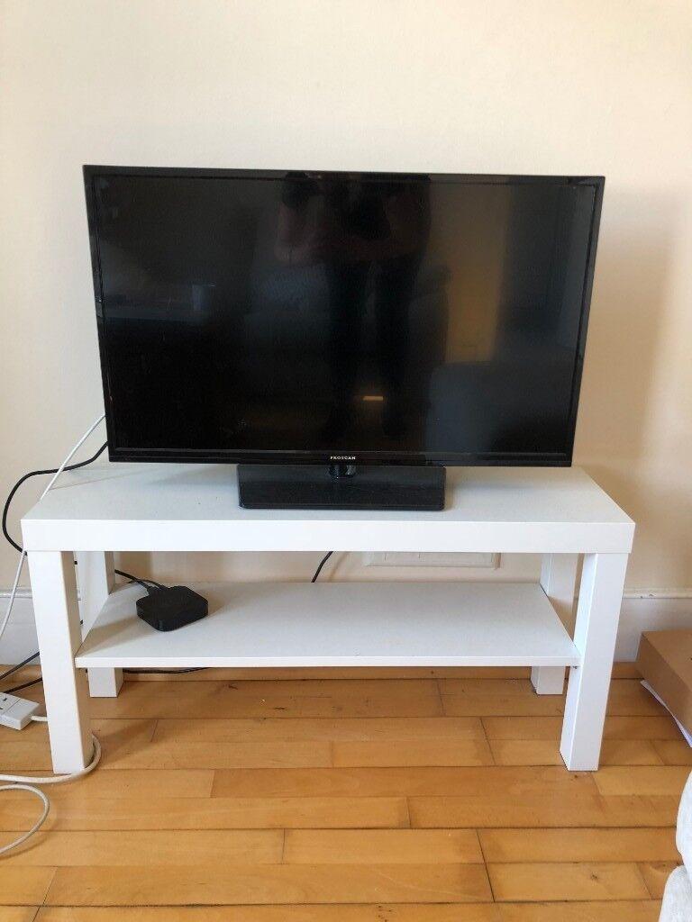 free ikea lack tv bench white in putney london gumtree. Black Bedroom Furniture Sets. Home Design Ideas