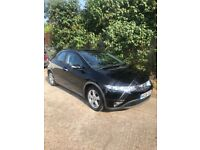 Black Honda Civic 1.4i-DSI hatchback 5d Petrol