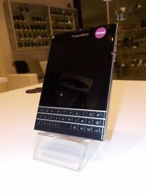 Blackberry passport sqw100, 32GB, Unlocked network, Black, Grade A.