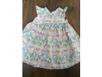 Mothercare girls dress 12-18m