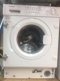 Bosch fully integrated washing machine 1 year Warra
