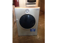 A+ Silver INDESIT Moon Washing Machine Fully Working with 4 Month Warranty