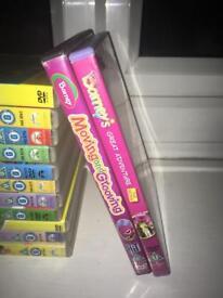 Barney DVD's