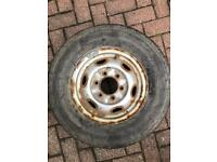 205/75/14 Bridgestone tyre and rim