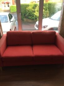 For sale. Two seater sofa!!! Ideal for student house
