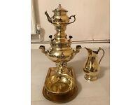 Samovar Teapot Coal Copper Persian Samawer